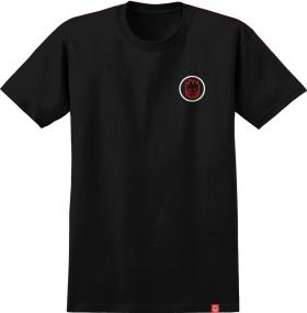 TS short sleeve Spitfire - 51010238BA Classic Swirl Fade - Black W/ Red To White Fade Prints