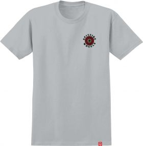 TS short sleeve Spitfire - 51010293AB Og Classic Fill - Silver W/ Red/White/Yellow Prints