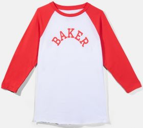 03-33-0053 Major Raglan - White/Red