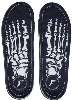 Kingfoam Orthotics - Skeleton Black