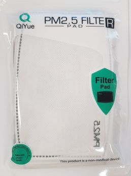 Filter Pad PM2.5 QiYue for sport masks - pack of 10 filters
