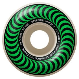 Spitfire Wheels - Formula Four - 99D - Classic Shape - 52MM