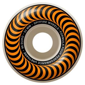 Spitfire Wheels - Formula Four - 99D - Classic Shape - 53MM