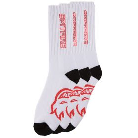 57010079A00 Classic 87' 3-Pack - Wht/Black/Red