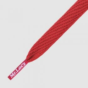LACES FLATTIES - RED