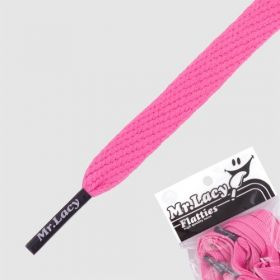 Laces Mr Lacy Flatties - Lipstick Pink/Navy Tip