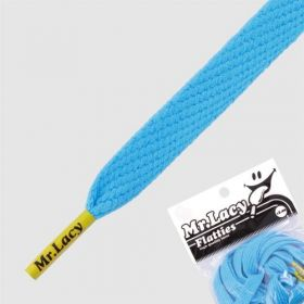 Laces Mr Lacy Flatties - Mellow Blue/Yellow Tip
