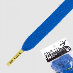 Laces Mr Lacy Flatties - Royal Blue/Yellow Tip