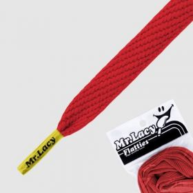 Laces Mr Lacy Flatties - Red/Yellow Tip