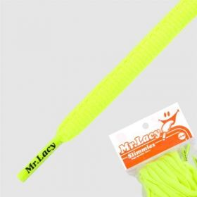 Laces Mr Lacy Slimmies - Neon Yellow