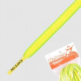 Laces Mr Lacy Slimmies - Yellow/Neon Green