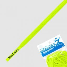 Laces Mr Lacy Roundies - Neon Yellow