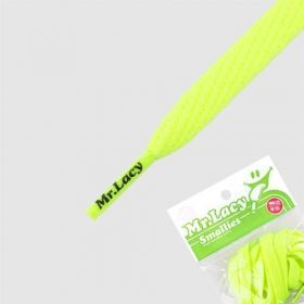 Laces Mr Lacy Smallies - Neon Lime Yellow