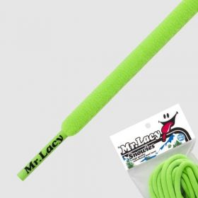 Laces Mr Lacy Snowies - Neon Green