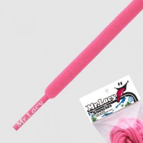 Laces Mr Lacy Snowies - Neon Pink