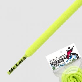 Laces Mr Lacy Snowies - Neon Lime Yellow