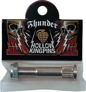 Thunder Silver Hollow Kingpin With Nut