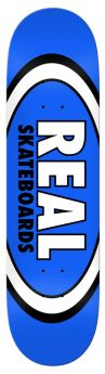 Deck Real  - Team Classic Oval 8.5 - 8.5