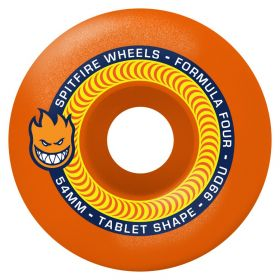 Wheels Spitfire - F4 99 Tablet Neon Orange 53