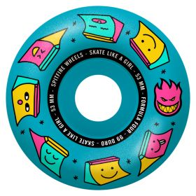 Wheels Spitfire - F4 99 Skate Like A Girl Radial  Blue - 53